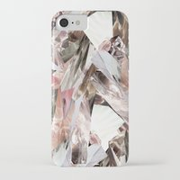 glass iPhone & iPod Cases featuring Arnsdorf SS11 Crystal Pattern by RoAndCo