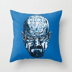 Heisenberg Quotes Throw Pillow