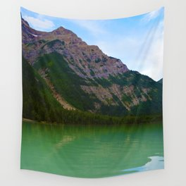 Kinney Lake in Mount Robson Provincial Park, British Columbia Wall Tapestry