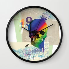 Sweet Death Wall Clock