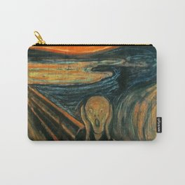 The Scream Edvard Munch Carry-All Pouch