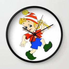 Pinoccihio Wall Clock