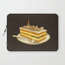 Hungry for Travels: Slice of Paris Laptop Sleeve