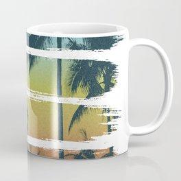 Tropical Brush Strokes II Coffee Mug