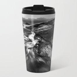 Trebarwith Strand Metal Travel Mug