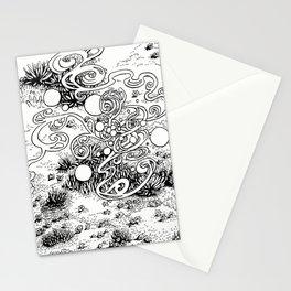 Epiphycadia I: Alpine b+w Stationery Cards