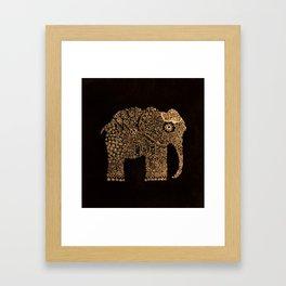 Ella the Elephant Framed Art Print