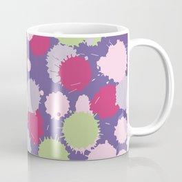 Blot ultra violet seamless pattern. Vector illustration Coffee Mug