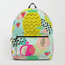 Memphis Style Fruit Backpack