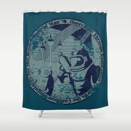 Brotherhood of Man Shower Curtain