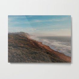 Fort Funston Park in San Francisco, California Metal Print
