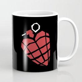 Heart Grenade Coffee Mug