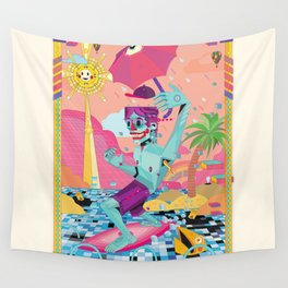 surfeur Wall Tapestry
