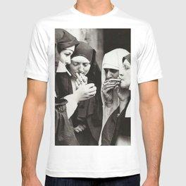 Nuns Smoking T-shirt