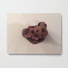 Chocolate Chip Baby Metal Print
