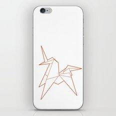 Origami Unicorn iPhone & iPod Skin