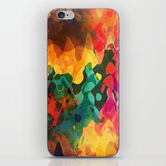 Color y psicodelia iPhone & iPod Skin