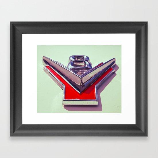 V8 Framed Art Print