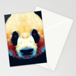 Panda - Colorful Animals Stationery Cards