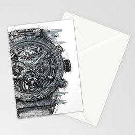 Black Phantom Stationery Cards