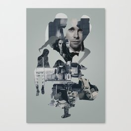 Suburban Apparition Canvas Print