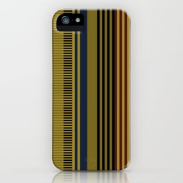 Vertical stripes #1 iPhone Case
