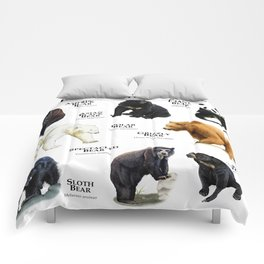 Bears of the World Comforters