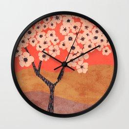 Janie's Pear Tree Wall Clock