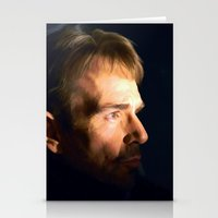 fargo Stationery Cards featuring Billy Bob Thornton @ Fargo TV Series by Gabriel T Toro