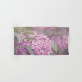 AFE Pink Lilacs Hand & Bath Towel