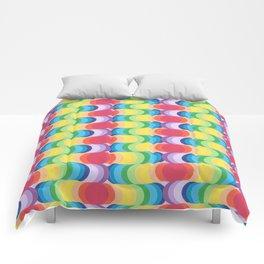 Rainbow Dragon Scales 2 Comforters