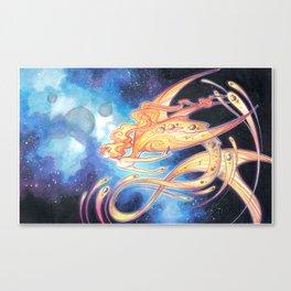 space sirene Canvas Print