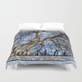WINTER PEAR TREE Duvet Cover