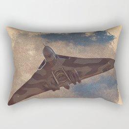 Vulcan Bomber Rectangular Pillow