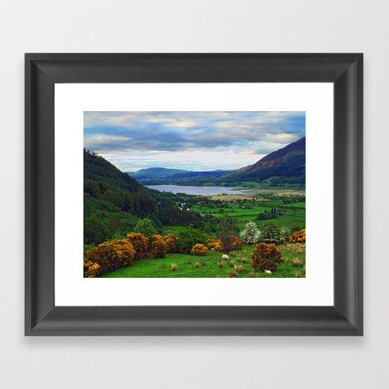 Bassenthwaite Lake Framed Art Print