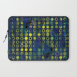 gold&blue Laptop Sleeve