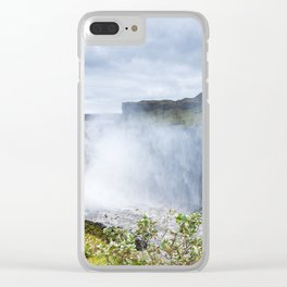 Wild river Clear iPhone Case