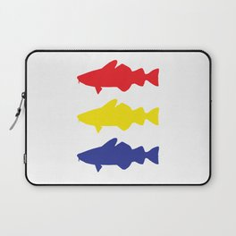 One fish, two fish, three fish Laptop Sleeve