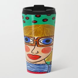 """The Day Muriel Learned It Was Best Just To Be Herself"" Travel Mug"