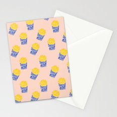 Floral Fries Stationery Cards