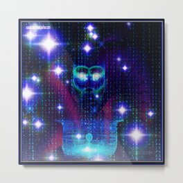 """""""Face of the Universe"""" by surrealpete Metal Print"""