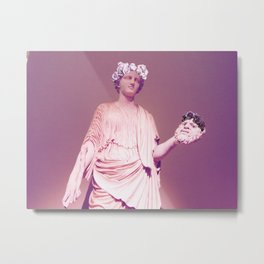 Museum Flower Crowns Metal Print