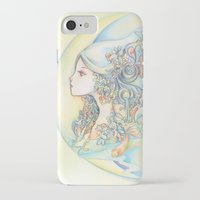 zodiac iPhone & iPod Cases featuring Zodiac - Aquarius by Hellobaby