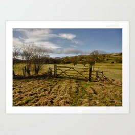 The Yorkshire Dales Art Print