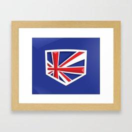 Montgomery Brits Logo Framed Art Print