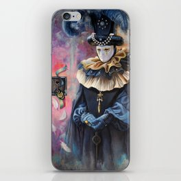 Venetian carnival: Keeper iPhone Skin