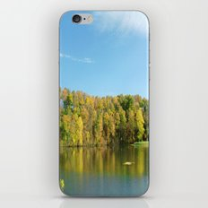Lakeside Reflections iPhone & iPod Skin