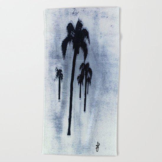 Shaking Those Trees, Caribbean  Beach Towel