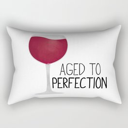 Aged To Perfection - Wine Rectangular Pillow