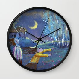 PURE HILL Wall Clock
